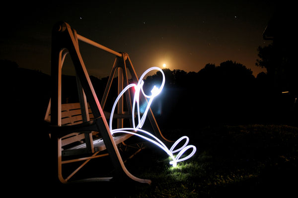 light painting drawing tips